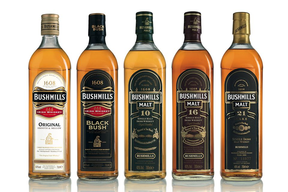 Bushmills Irish Whiskey Portfolio