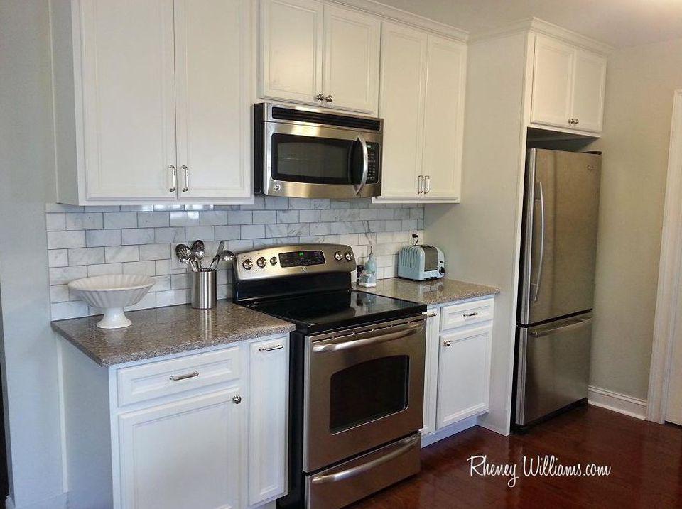 Kitchen Tile Backsplash Tricks For Dealing With Appliances