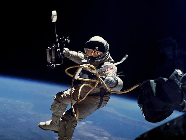 Image of the Week for First American Spacewalk