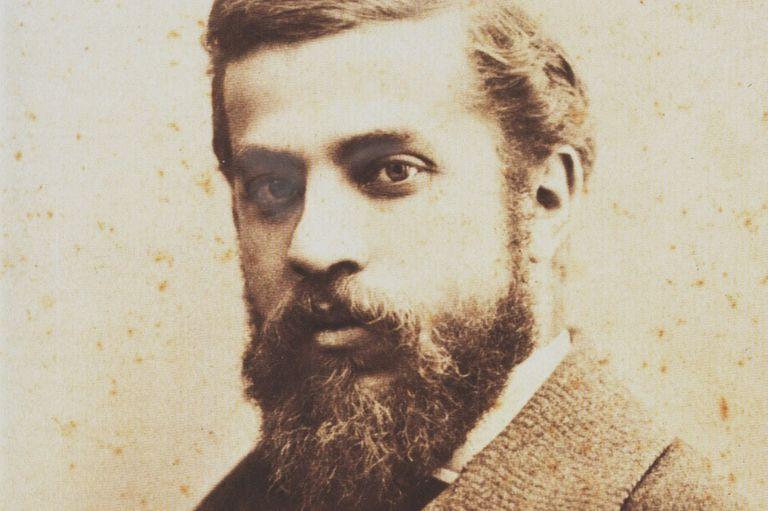 sepia photo of white, bearded man