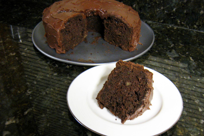 Chocolate Zucchini Bread Cake