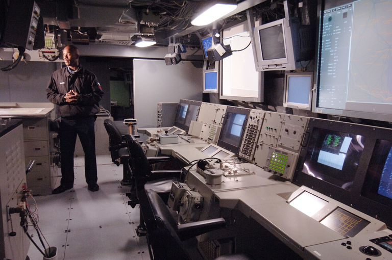 USA - Inside the USS San Antonio