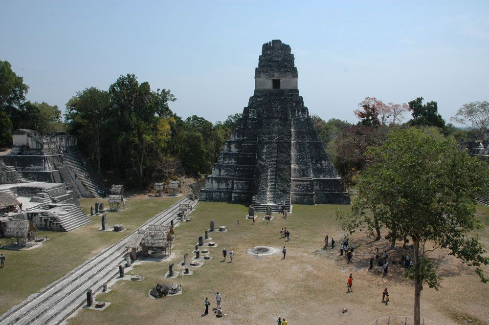 The Role Of The Plaza In Maya Festivals