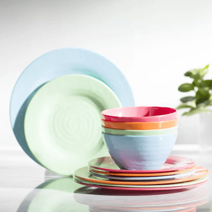 What is the difference between dinnerware materials for Kids kitchen set canada