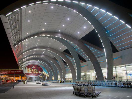 Middle East, UAE, Dubai, airport new Al Maktoum