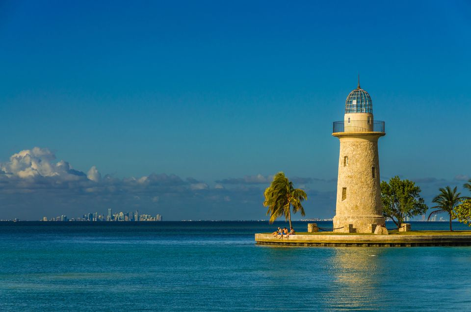 The lighthouse at Biscayne National Park