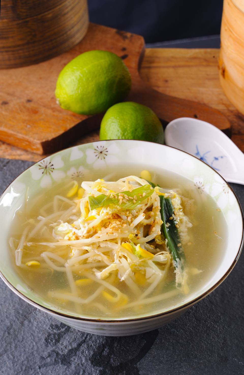 Korean bean sprout soup