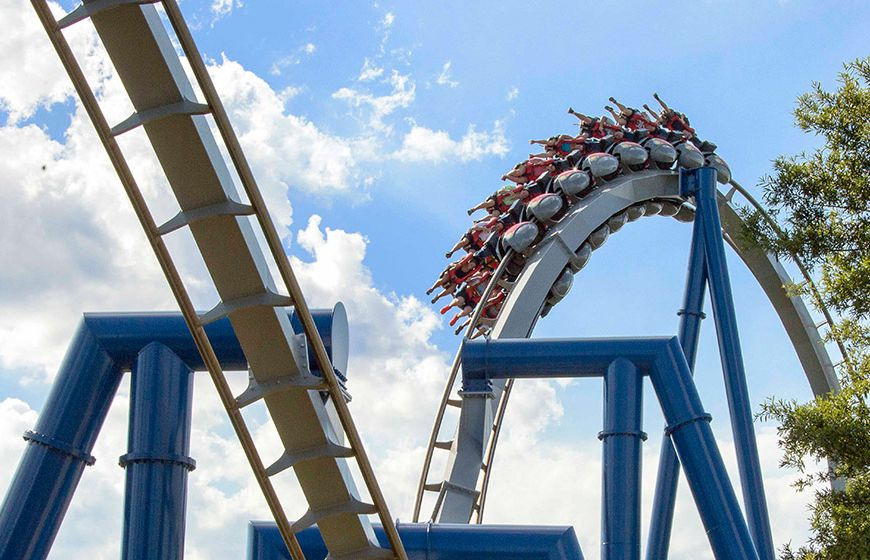 Reviews Of Carowinds Roller Coasters