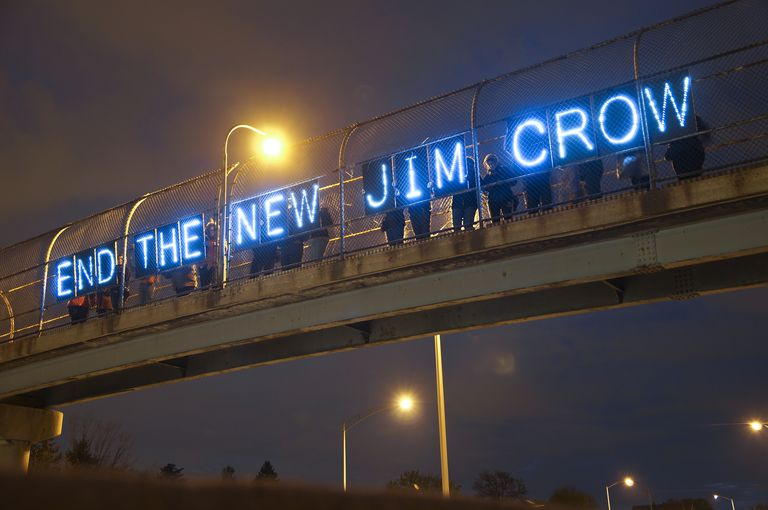 """""""End The New Jim Crow."""""""