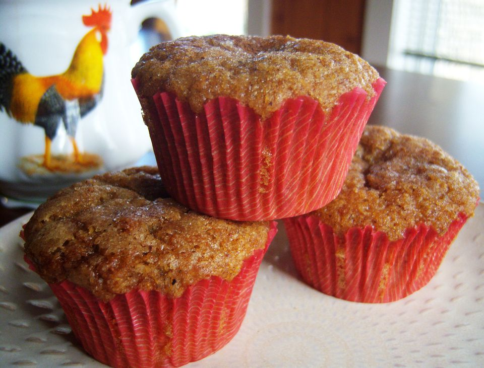 Gluten Free / Grain Free Flax and Almond Flour Muffin Recipe Image Teri Gruss