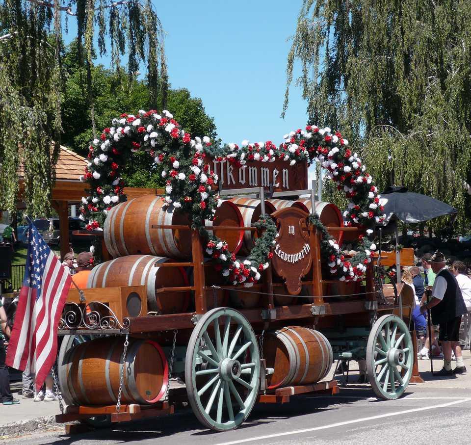 Leavenworth Beer Wagon