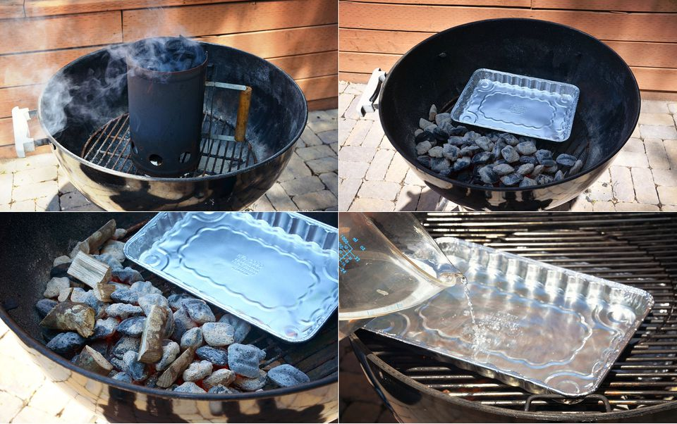 how to start a grill charcoal