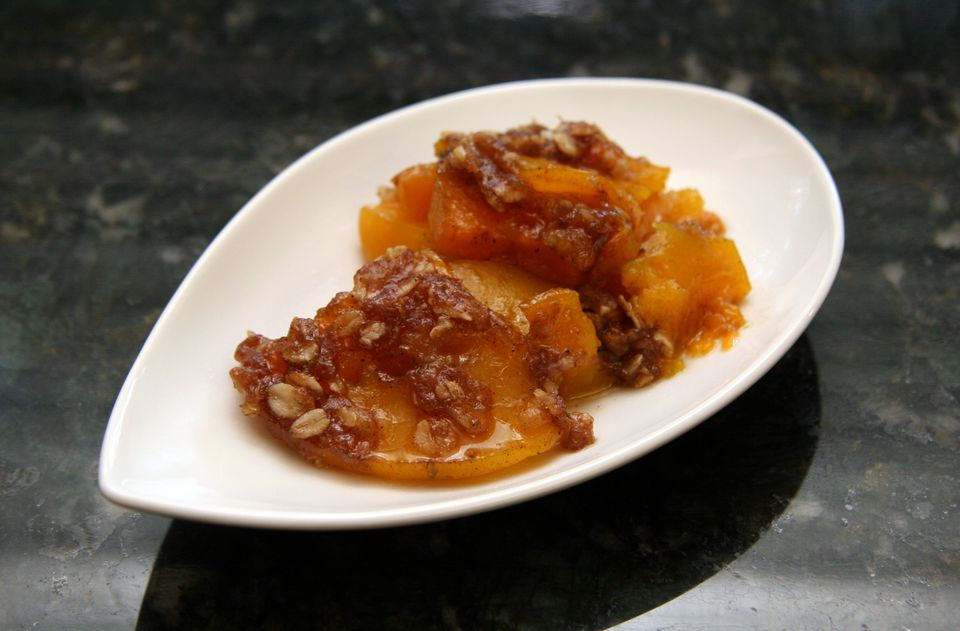 Butternut Squash Bake with Spiced Brown Sugar Crumb Topping
