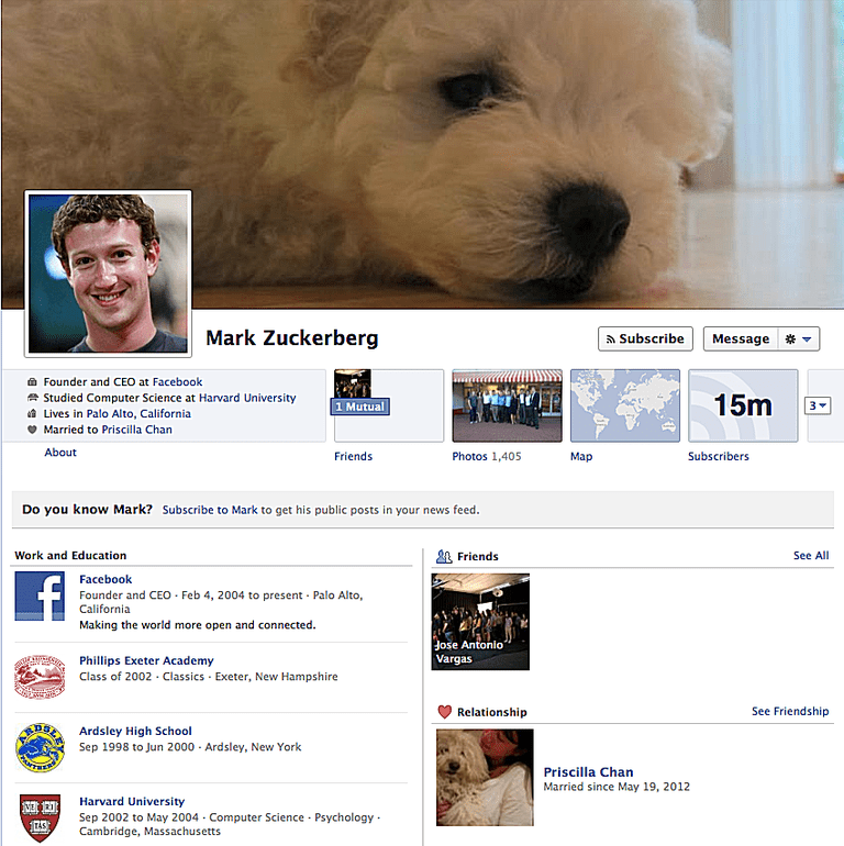 Facebook Profile Page And Group Differences