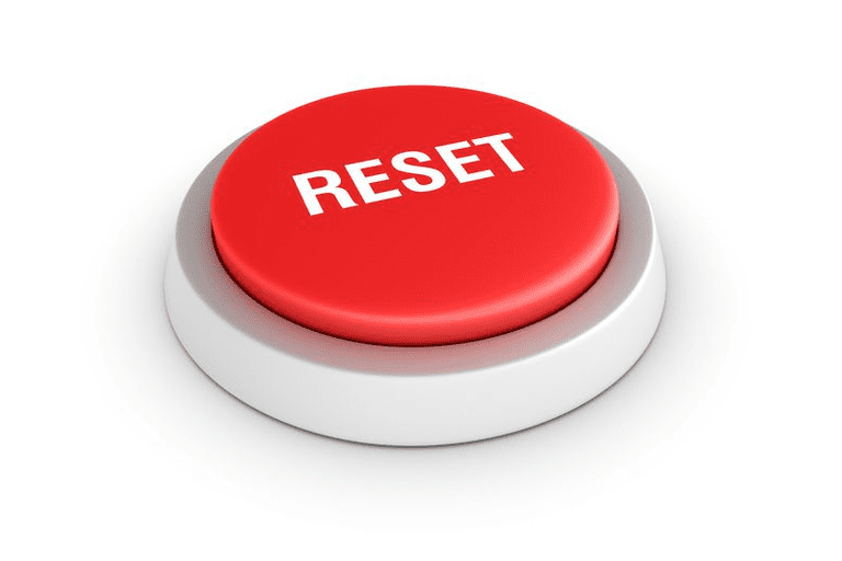 Picture of a red RESET button