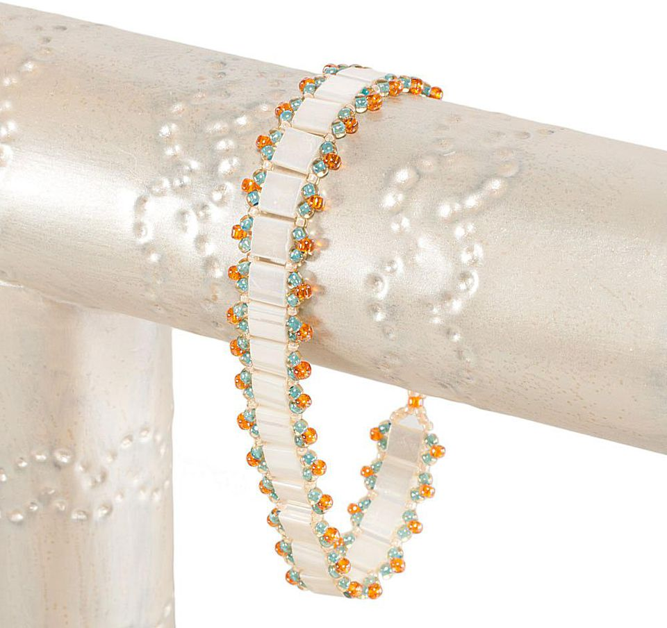 Complete Tila Bead Bracelet