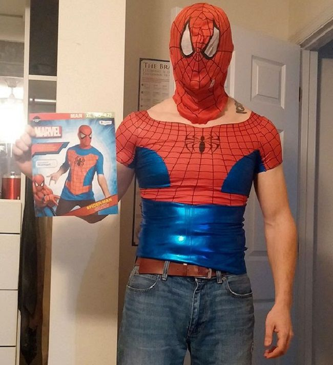 spiderman fail