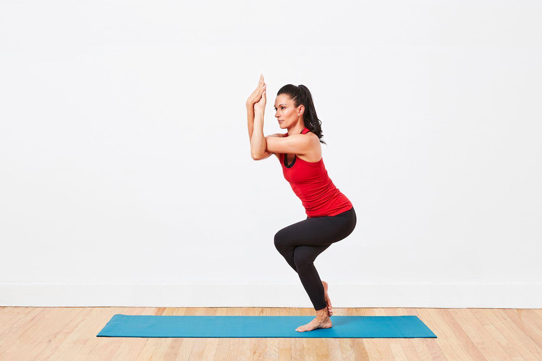 How to Do Eagle Pose - Garudasana