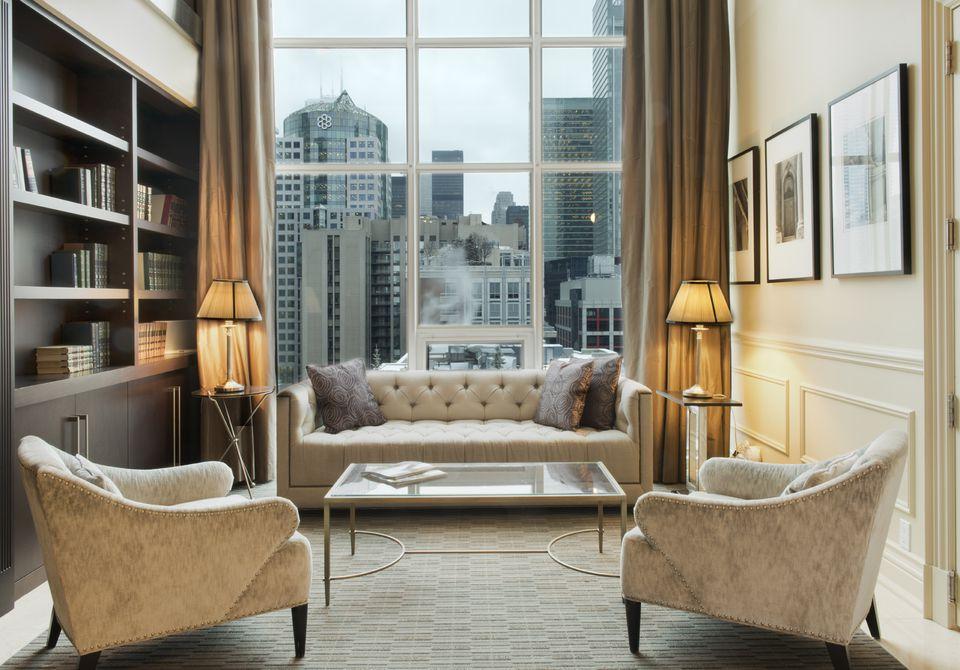 Penthouse suite of SoHo Metropolitan Hotel Toronto