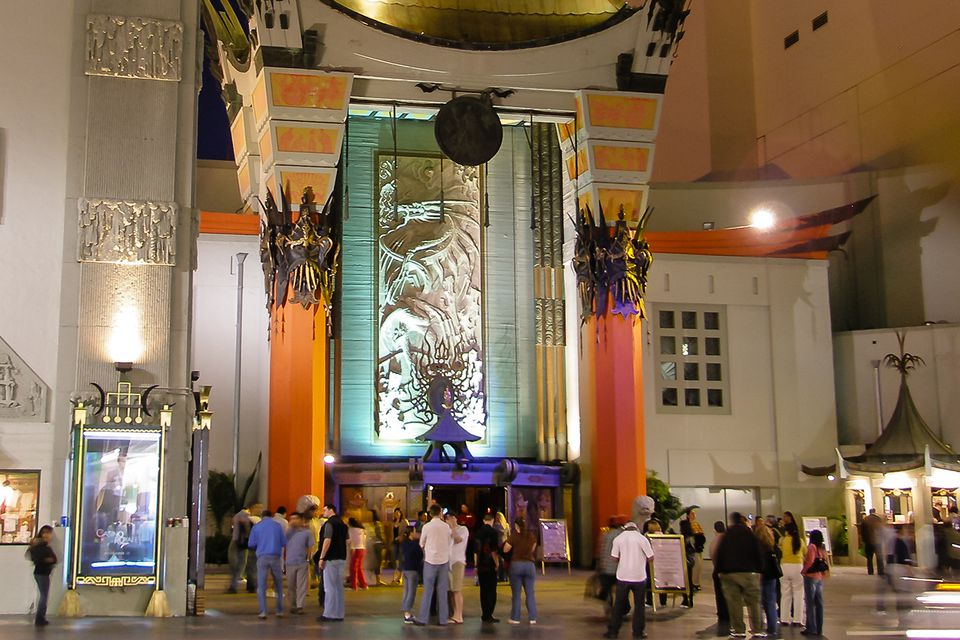 Grauman's Chinese Theatre at Night