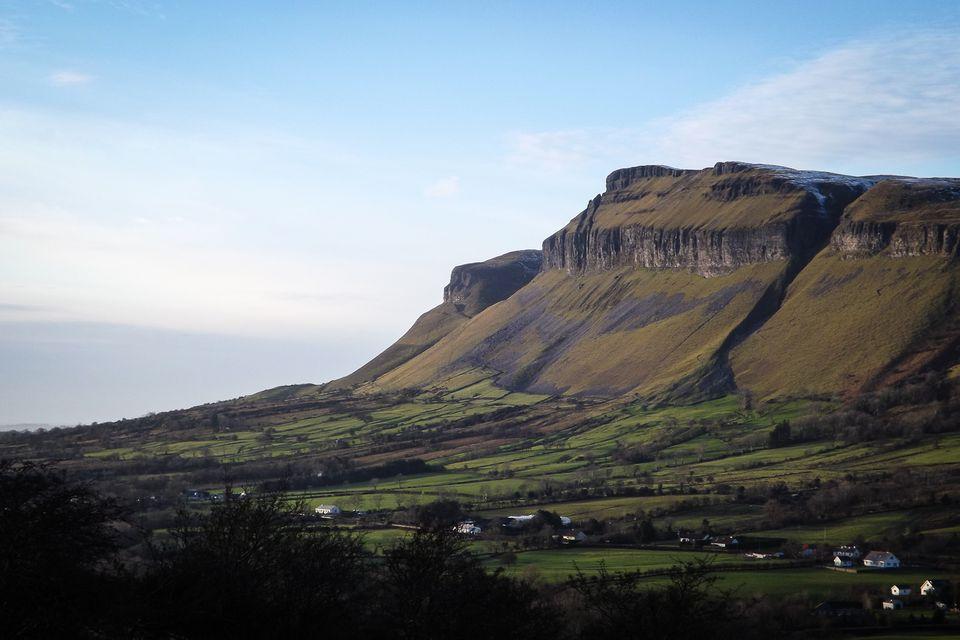 Sligo's Benbulben