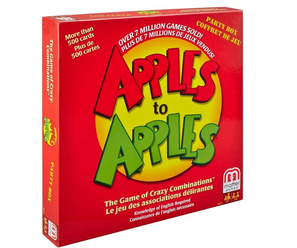 apples to apples fun for tween and teen grandchildren