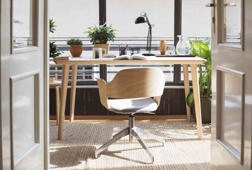 feng shui home office. indoor plants in home office feng shui