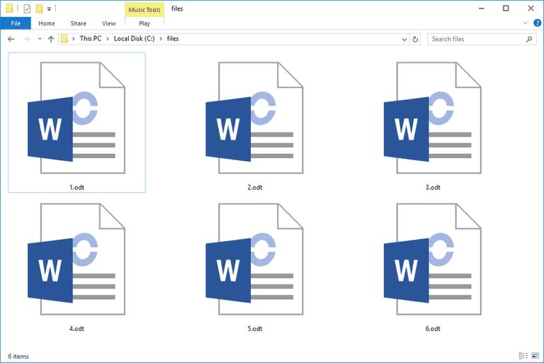 ODT Files