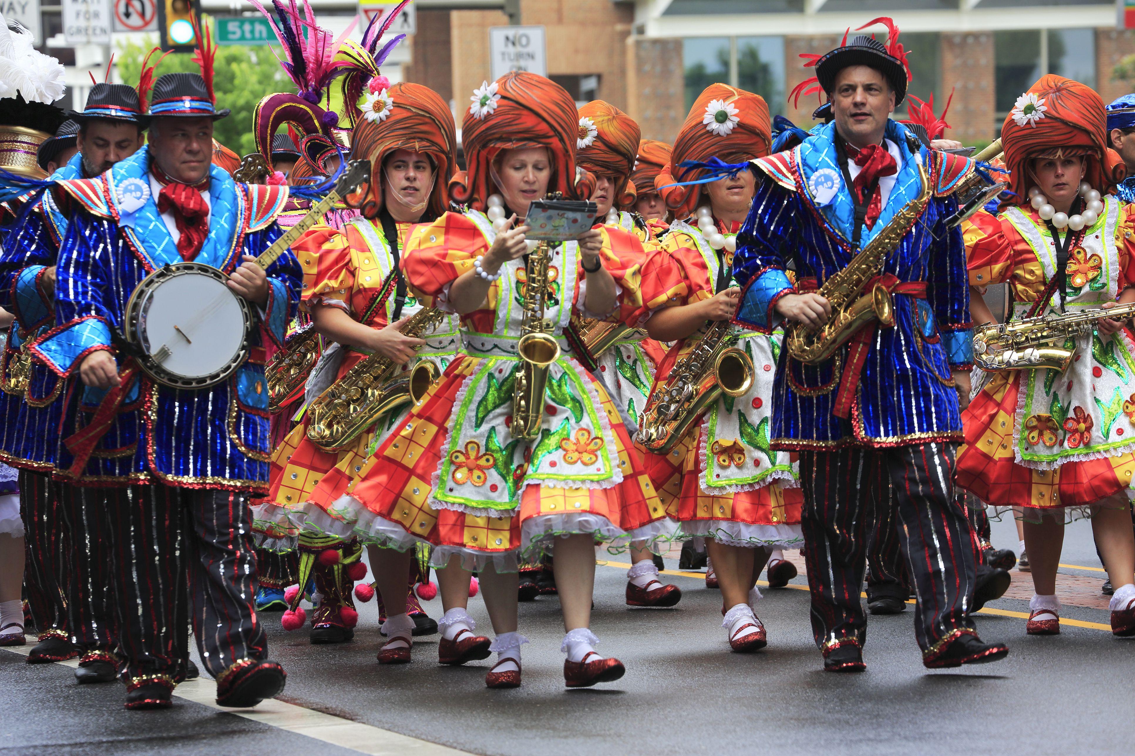 Alsatia Mummers Parade 2017 In Hagerstown Maryland