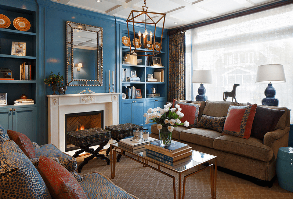 blue living rooms interior design blue living room ideas 23981