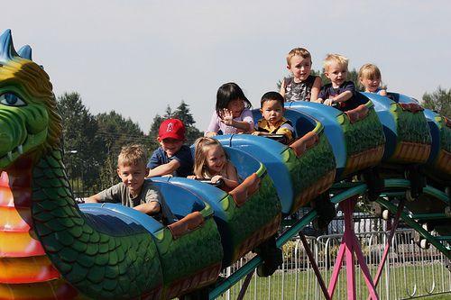 Puyallup Fair Rides for Kids