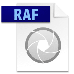 Picture of the RAF file icon
