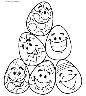 Easter Coloring Pages for the Kids Free and Printable