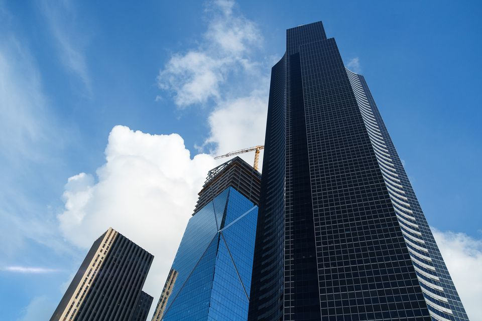 Columbia Center and The Mark construction