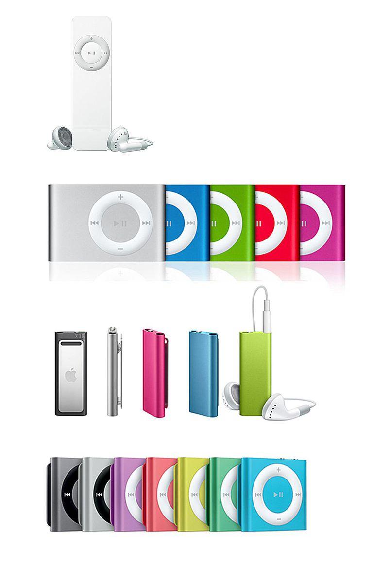 Every iPod Shuffle