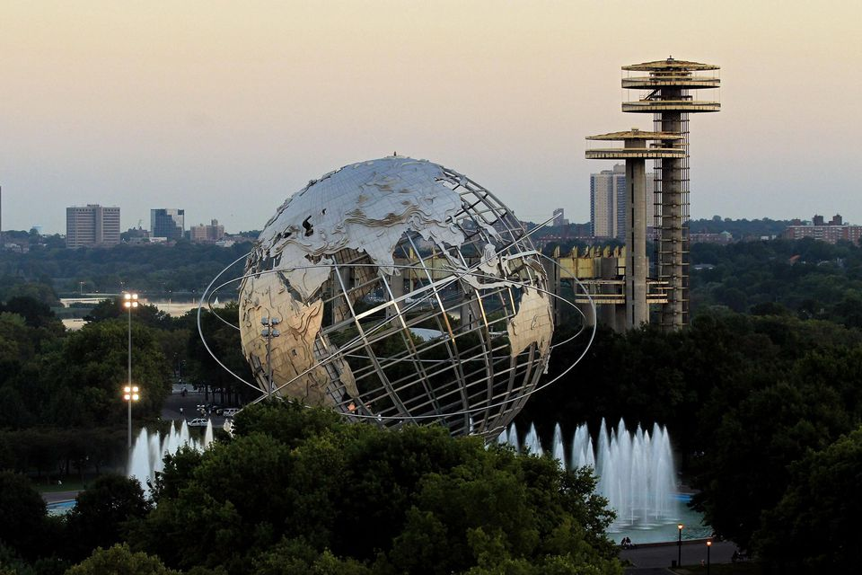 A general view of the Unisphere during day one of the 2010 U.S. Open at the USTA Billie Jean King National Tennis Center on August 30, 2010 in the Flushing neighborhood of the Queens borough of New York City.