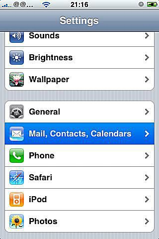 how to set up hotmail on iphone how to set up your iphone mail signature 20316