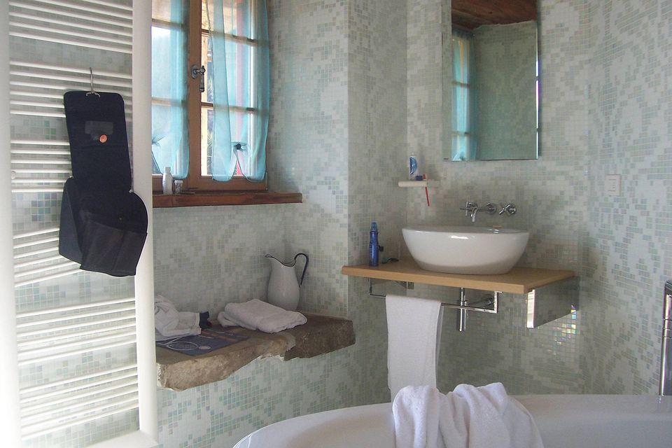 A Budget Bathroom Vanity Idea
