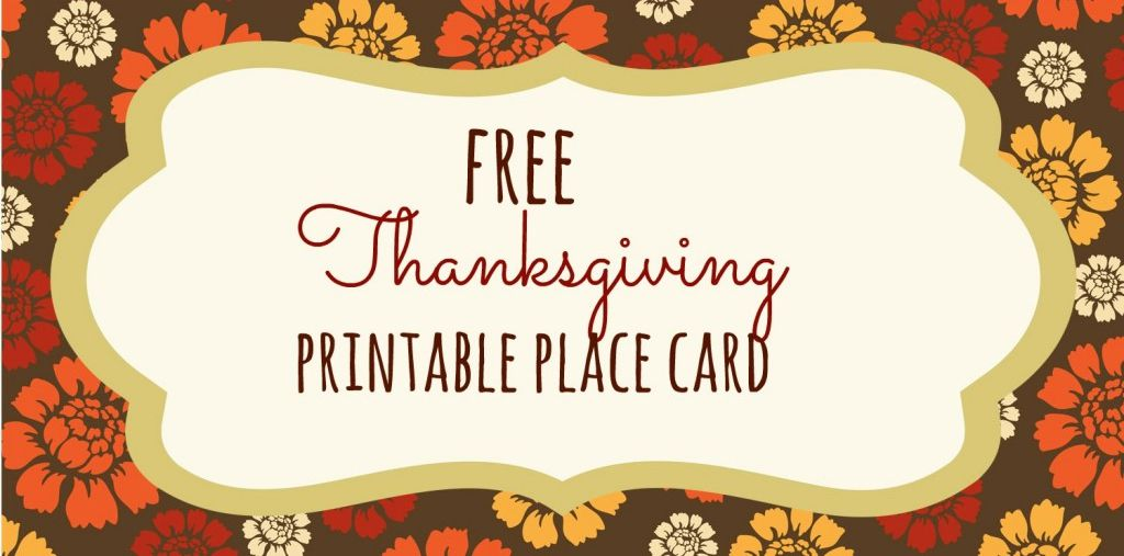 23 sets of free printable thanksgiving place cards pronofoot35fo Choice Image