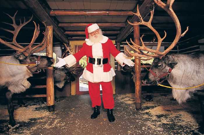 photo courtesy of santas workshop north pole - Santa And The North Pole