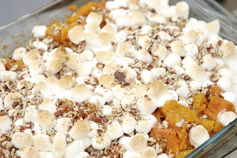 Low Calorie Sweet Potato Casserole