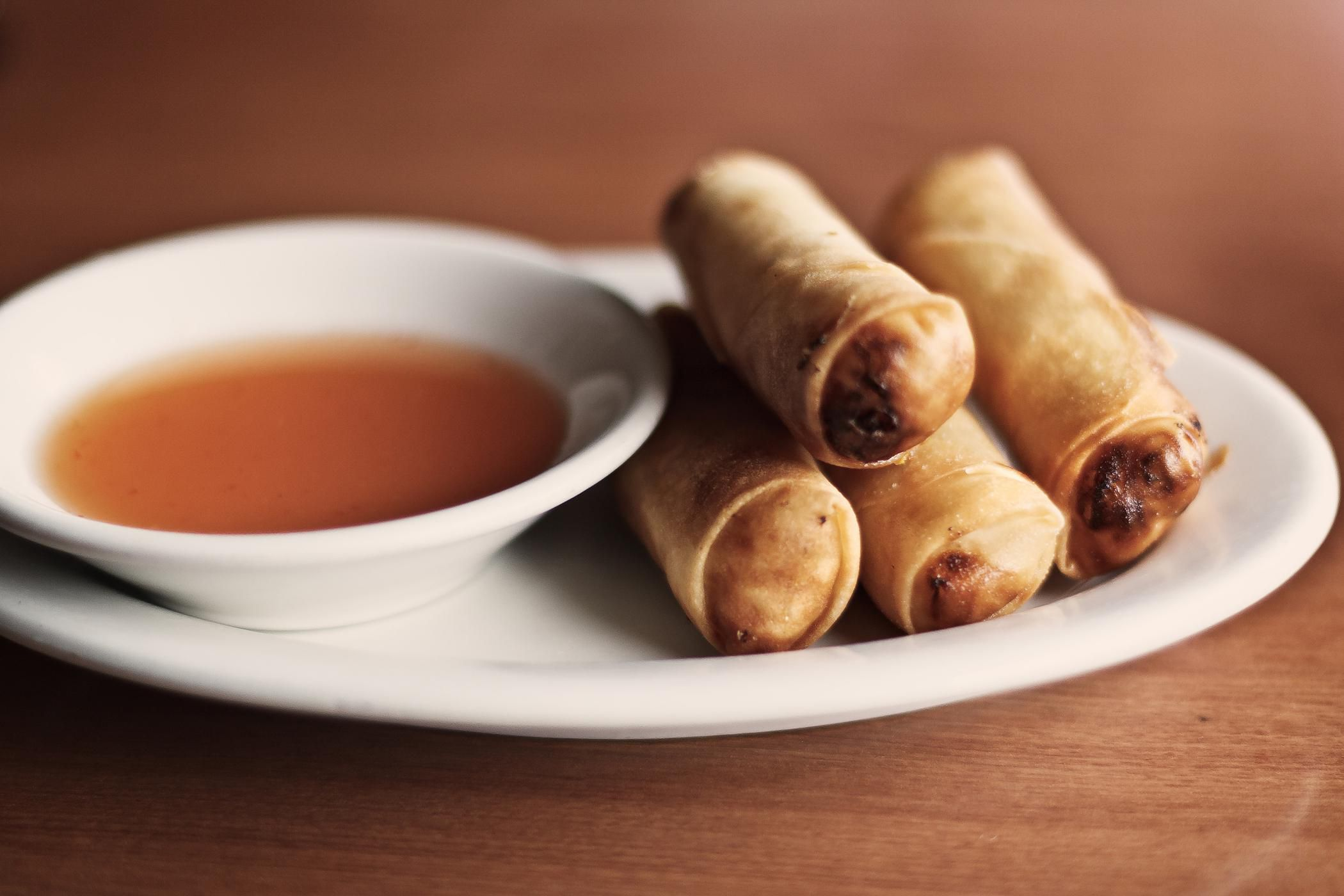 Cantonese Spring Rolls With Pork And Shrimp Recipe