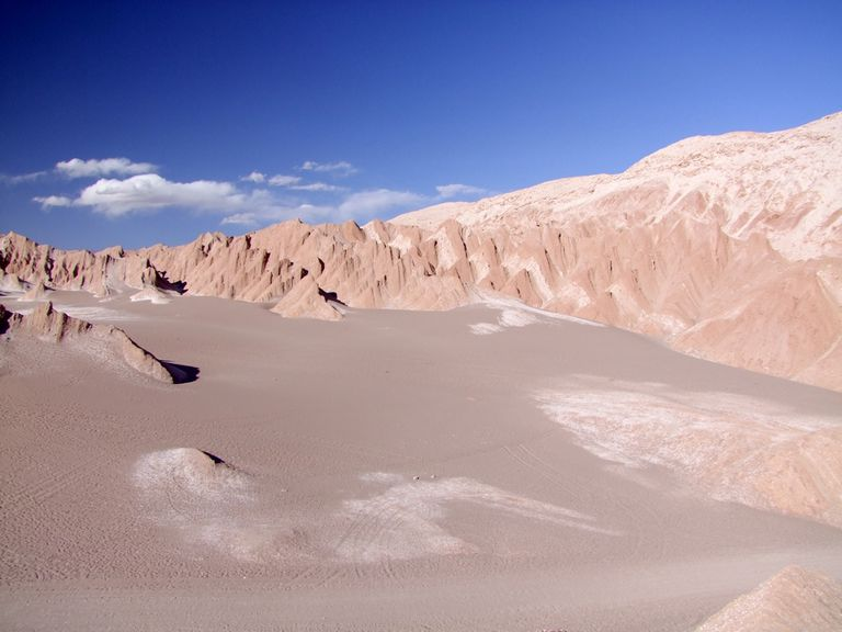 Atacama Desert for article on conjugating decir