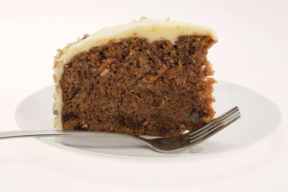 Spiced Carrot Cake With Cream Cheese Glaze Recipe