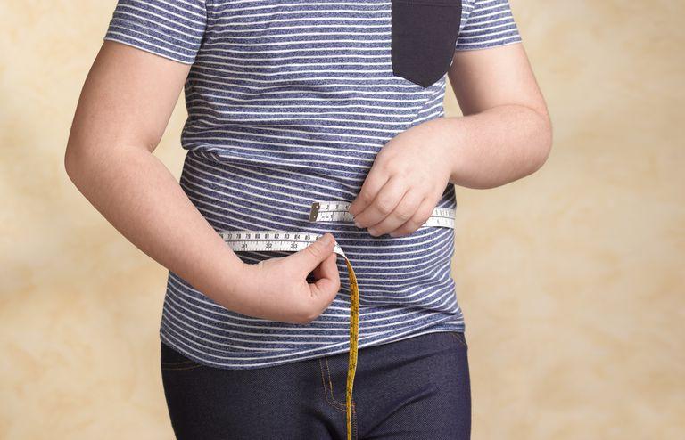 measuring waist circumference
