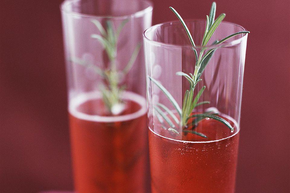 La Vie En Rouge Cocktail with Grand Marnier