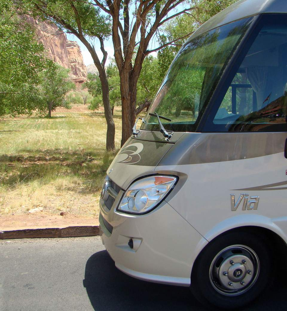 This Winnebago Via was offered for a test drive and review.