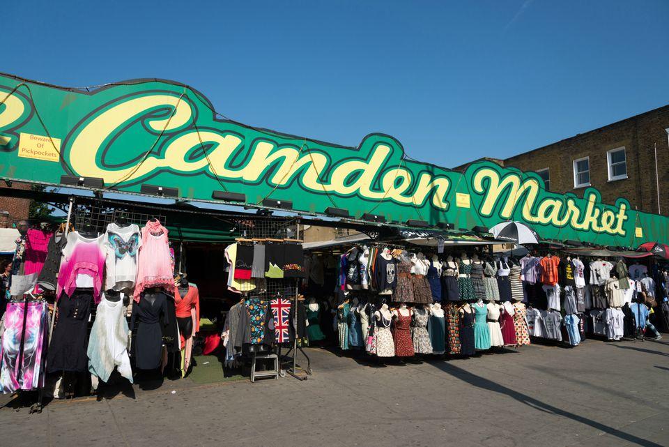 Camden Market Shoe Stores