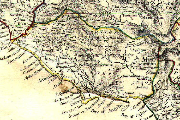 Latium Map