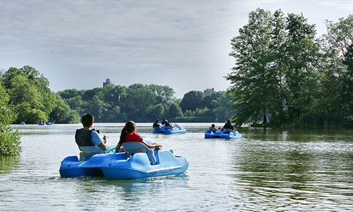 Prospect Park Paddle Boat
